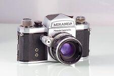 schöne Klassische MIRANDA s old + Soligor 1.9 5cm clad garantiert Japan Vintage