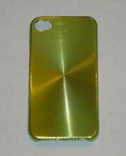 Light Green Aluminum Metal Hard Case for Apple iPhone 4 4S