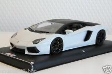 1/18 MR Lamborghini Aventador LP700-4 White/Black Roof Warping Window, BBR