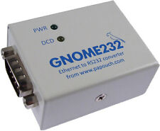 External RS 232 Serial to Ethernet Converter Network Data Transmission TCP/IP