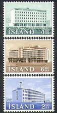 Iceland 1962 Institute/Agriculture/Buildings/Architecture 3v set (n37871)