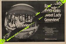 Kinks The Genevieve UK Tour Advert MM-FDSA
