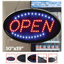 Business Sign Letters Ultra Bright Led Neon Light Animated Motion With Onoff Open