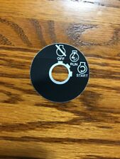 Sears,MTD Lawn Tractor, Ignition Switch Decal