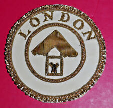 Past London Grand Rank dress apron badge