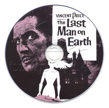 The Last Man on Earth (1964) Classic Vincent Price Horror, Sci-Fi Movie on DVD