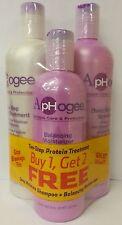 Aphogee Two-Step Protein Treatment, Balancing Moisturizer, Deep Moisture Shampoo
