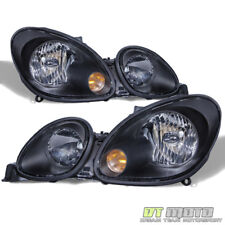 For Blk 1998-2005 Lexus GS300 GS400 GS430 Replacement Headlights Headlamps 98-05
