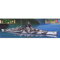 Tamiya 78015 Tirpitz German Battleship 1/350