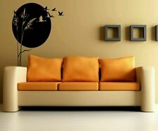 Wall Art Vinyl Sticker Decal Mural Decor Flying Gooses Cane Reed Nature #1064