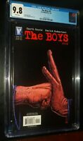 THE BOYS #5 2007 DC/Wildstorm Comics CGC 9.8 NM/MT White Pages