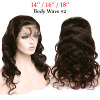 Swiss Lace Indian Remy Human Hair Wig Straight Curly Wave Lace Front Wigs Brown