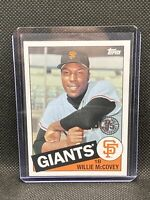 2020 Update 1985 Baseball #85TB-39 Willie McCovey - San Francisco Giants