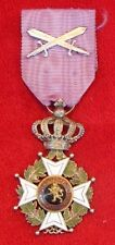 WWII Belgian military medal Knights' Order of Leopold