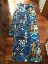 More details for 1970s vintage star wars curtains two panels handmade
