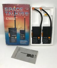 Vintage Tyco Space Talkies 2 Way Walkie Talkies By Bentecs VERY RARE