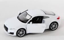BLITZ VERSAND Audi TT Coupe weiß / white Welly Modell Auto 1:34-39 NEU OVP