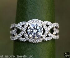 1.93CT ROUND CUT SOLITAIRE ENGAGEMENT DIAMOND RING 14ct SOLID WHITE GOLD