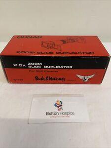 Ohnar 2.5x Zoom Slide Duplicator SLR Bush & Meissner C1331 Boxed #1326