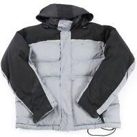 NIKE Down Fill Hooded Puffer Jacket | Men's S | Puffa Coat Retro Hood Vintage
