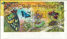 2003 AUSTRALIA Bugs and Butterflies M/S FDC