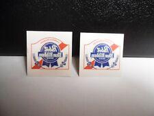 "Pabst Blue Ribbon Temporary Tattoos 1"" x 1 1/2"" [ 2 pc ]"