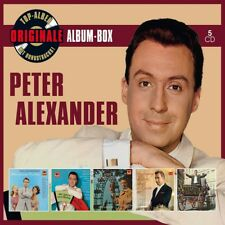 PETER ALEXANDER - ORIGINALE ALBUM-BOX (DELUXE EDITION) 5 CD NEUF