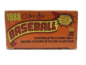 1988 O-Pee-Chee Baseball Complete Set