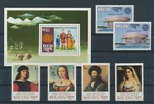 LM11484 Bhutan mixed thematics fine lot MNH