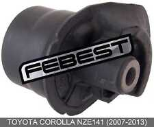Crossmember Bushing For Toyota Corolla Nze141 (2007-2013)