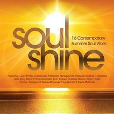 SOUL SHINE 16 Contemporary Summer Soul Vibes NEW & SEALED CD (EXPANSION) MODERN