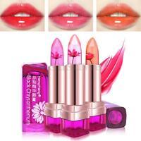 Magic Jelly Flower Lipstick Color Changing Long Lasting Moisturizing LipGloss