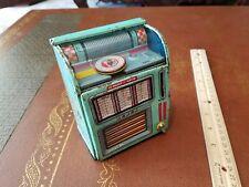 Vintage haji N.Y tin wind up juke Box made in Japan tin toy lot toy japan old