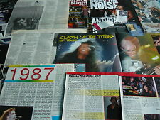 ANTHRAX - MAGAZINE POSTER/CUTTINGS COLLECTION (REF 3E)