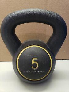 5 lb Kettlebell Gold's Gym Black