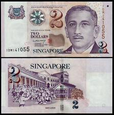 SINGAPORE 2 DOLLARS (P45A) N. D. (2004) PAPER UNC