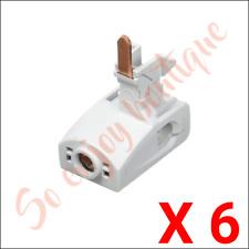 SCHNEIDER 21098 - Lot de 6 connecteurs pour peigne - 80 A - 25 mm² - isolé