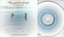 The SUPERNATURALS~Love has passed away~3 trk PROMO CD single~1997 CDFOODDJ99 EXC