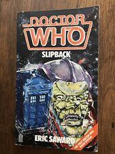 Dr. Who: Slipback Radio Special (1987, Paperback)