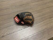 "New listing Rawlings Heart Of The Hide 11.5"" Trapeze Web Baseball Glove Black"