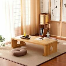 Japanese Vintage Indoor wood Furniture Asian Style Coffee Tea Living Room Low