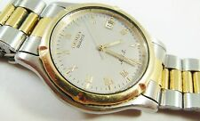 Seiko Two-Tone Base Metal Top Stainless Steel 7M22-8A5L Sample Watch NON-WORKING