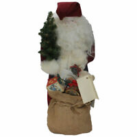"""Bit of Christmas """"Colonial Claus"""" Handcrafted Santa Figurine"""