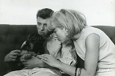 JOHNNY HALLYDAY SYLVIE VARTAN 60s VINTAGE PHOTO ORIGINAL #29