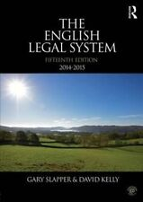 English Legal System Bundle: The English Legal System: 2014-2015