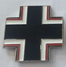 German Panzer Tiger Tank Knight Fighter War Battle Cross Emblem Pin Badge Hat S