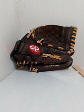 "New listing Rawlings H150BRNC Highlight Series 11.5 "" Brown RHT Glove Mitt pre owned"