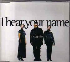 Incognito-I Hear Your Name cd maxi single