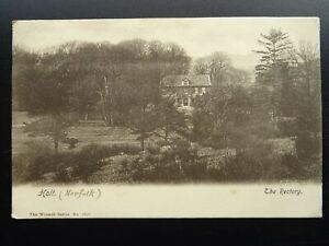 Norfolk HOLT The Rectory c1903 Postcard by The Wrench Series 3520