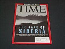 1995 SEPTEMBER 4 TIME MAGAZINE - THE RAPE OF SIBERIA - T 2876
